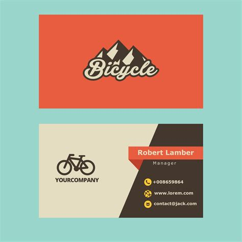 business card logo design examples  vector eps