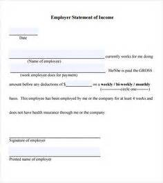 Proof Of Income Letter For Babysitter Proof Of Employment Letter Employer Income Verification