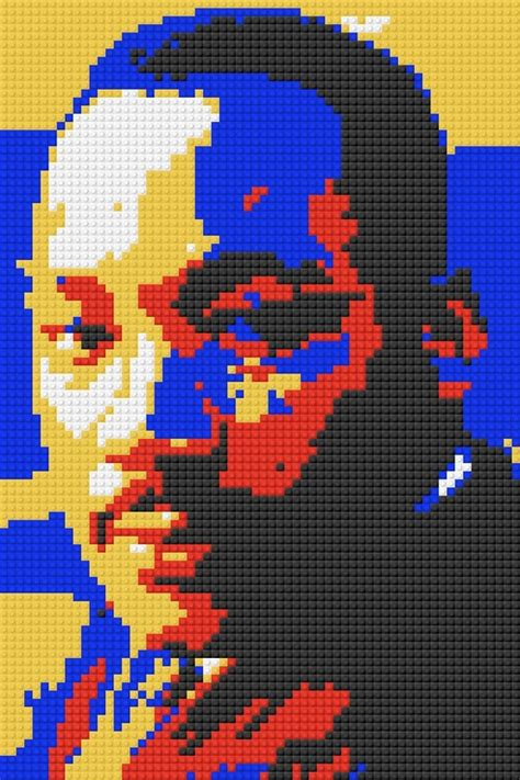 celebrating black history  legos dryden art