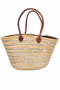 Panier Pas Cher : accessoires de plage panier cabas de plage en paille pas cher ~ Teatrodelosmanantiales.com Idées de Décoration