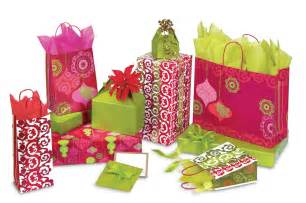 mod ornaments gift bags box and wrap