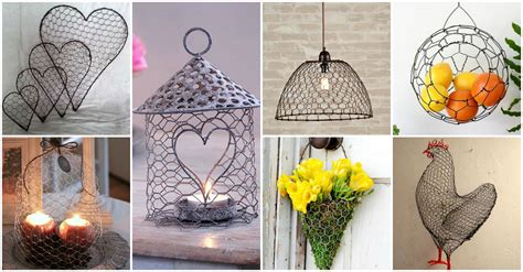 25 diy chicken wire crafts that will fascinate you