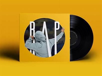 Playlist Spotify Rap Vinyl Dribbble Song Result