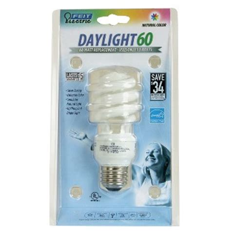 light bulbs that simulate sunlight buy the feit elec bpesl13t d compact fluorescent light