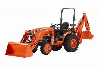 Kubota Tractor Tractors Compact Backhoe L2501 Series