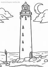 Leuchtturm Malvorlage Malvorlagen Ausmalen Ausmalbilder Kostenlos Coloring Zeichnen Malen Kinder Zum Drawing Lighthouse Strand Nordsee Zeichnung Kostenlose Muster Faro Haus sketch template