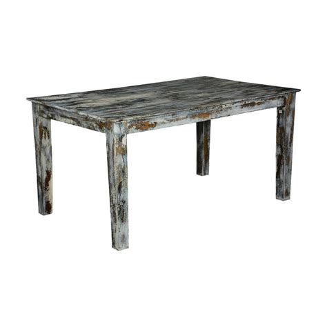 distressed wood kitchen tables grey speckled distressed wood kitchen dining table