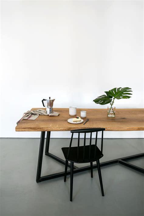 Schoene Ideen Fuer Esstisch Mit Stuehlenfabulous Solid Wood Dining Table Modern Woden Brown Color Design by Zentrales M 246 Belst 252 Ck Tisch F 252 R Sch 246 Ne Momente Interior