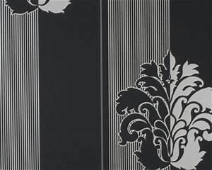 Tapete Barock Schwarz : hg6677 tapeten schwarz weiss im ~ Yasmunasinghe.com Haus und Dekorationen