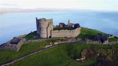 dji mavic pro drone north wales criccieth castle black rock sands youtube