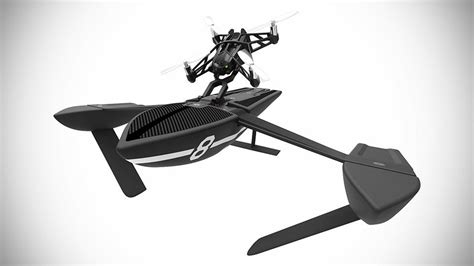 parrot unveiled   minidrones including drone powered hydrofoils shouts