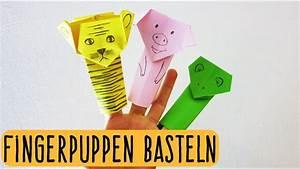Basteln Aus Papier : fingerpuppen aus papier basteln falten origami kindertipp easy kids crafts youtube ~ A.2002-acura-tl-radio.info Haus und Dekorationen