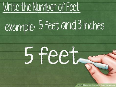 How To Convert Feet To Inches