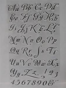 individual acrylic clear stamps alphabet numbers 3 With individual letter rubber stamps