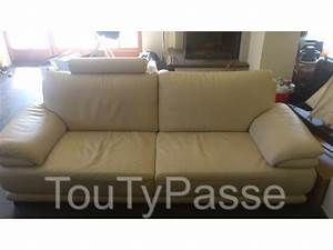 canape cuir chateau d39ax brabant wallon toutypassebe With canapé 2 places chateau d ax