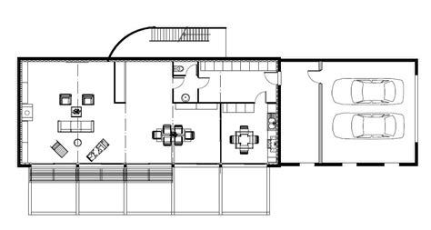 plan maison moderne contemporaine plan maison contemporaine