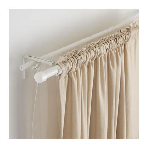 r 196 cka hugad curtain rod combination white 210 385 cm ikea