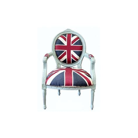 poltrona bandiera inglese poltrona divano barocco uk bandiera inglese bianco shabby