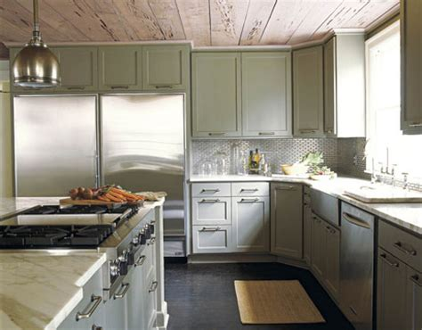 grey green kitchen cabinets candice s decorating tips bossy color 4066