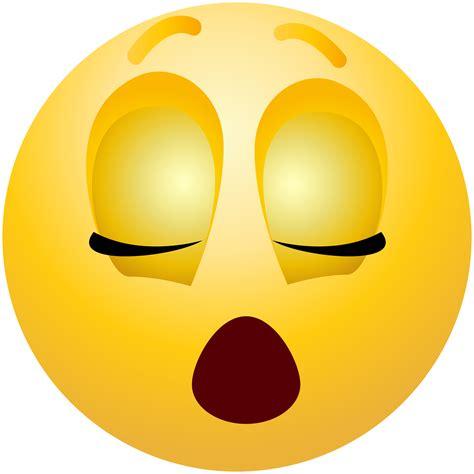 Emoji Clipart Sleeping Emoticon Emoji Clipart Info