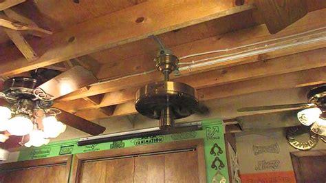 classic ceiling fans with lights classic fan quot original quot ceiling fan youtube