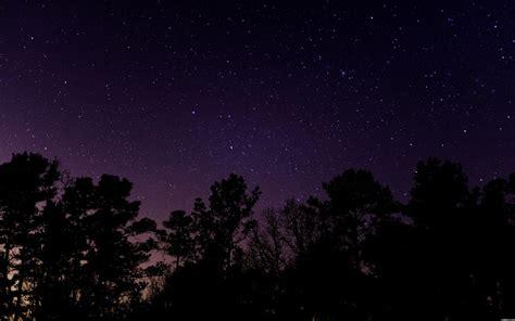 starry sky desktop wallpaper