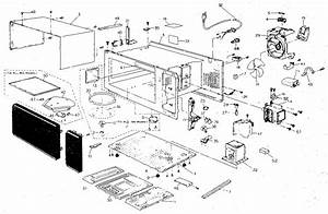 Panasonic Nn5539a Countertop Microwave Parts