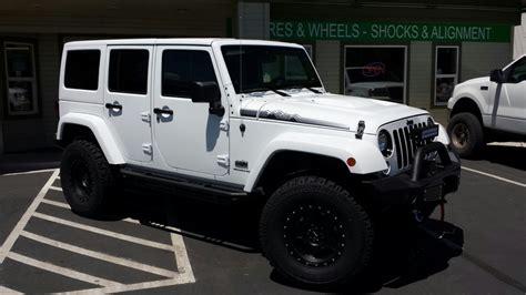 cool white jeep white jeep polar edition