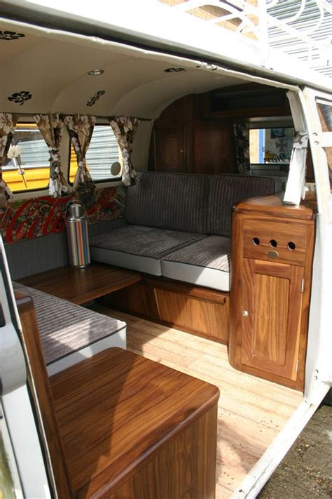 golding bus interior    timber camper wiz