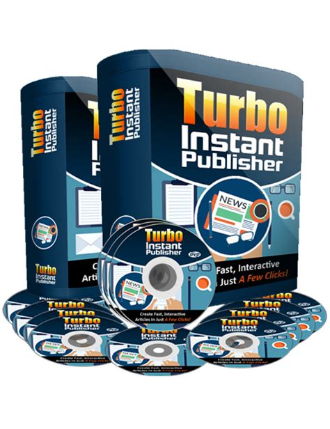 turbo instant niche templates turbo instant publisher plr software for personal use