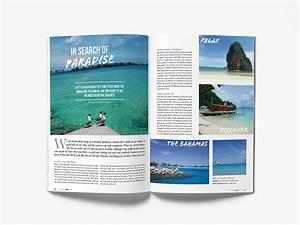 indesign magazine travel magazine valeria valdeiglesias