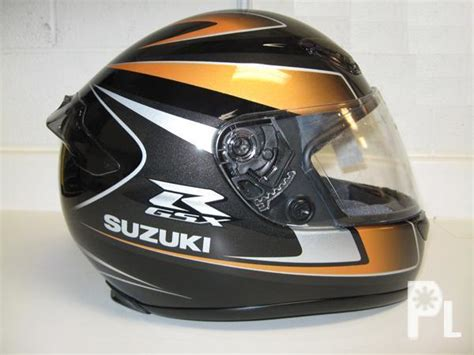 Suzuki Gsxr Helmet by Shoei Rf 1000 Suzuki Gsx R Gold And Black Helmet Bacoor