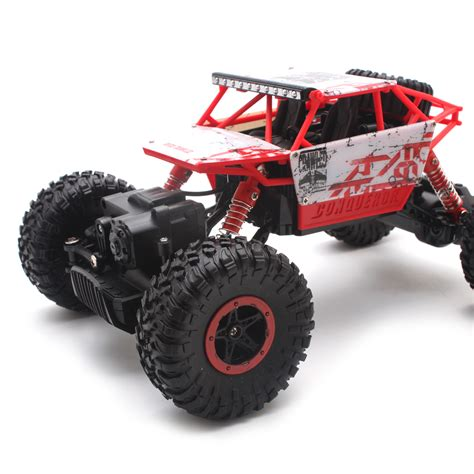 rc monster truck racing 1 18 2 4ghz 4wd racing rock off road rc car atv buggy