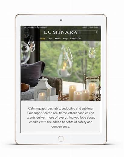 Luminara Ecommerce Website