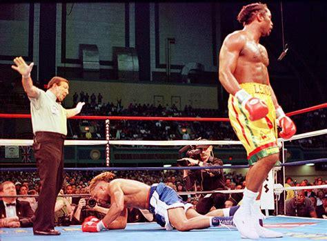 shannon briggs  heavyweight  knocked