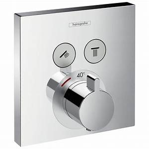 Hansgrohe Unterputz Thermostat : hansgrohe showerselect thermostat unterputz 15763000 megabad ~ Watch28wear.com Haus und Dekorationen