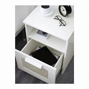 Table De Chevet Blanche Ikea : brimnes mesa de cabeceira ikea ~ Nature-et-papiers.com Idées de Décoration