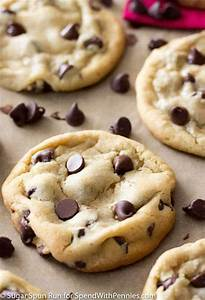 Perfect Chocolate Chip Cookies - Spend With Pennies