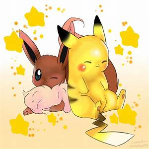 Cute Eevee And Pikachu | www.imgkid.com - The Image Kid ...