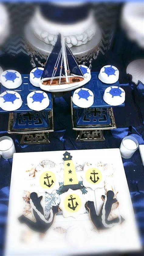 blue  white nautical baby shower baby shower ideas