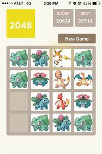 2048 pokemon edition images