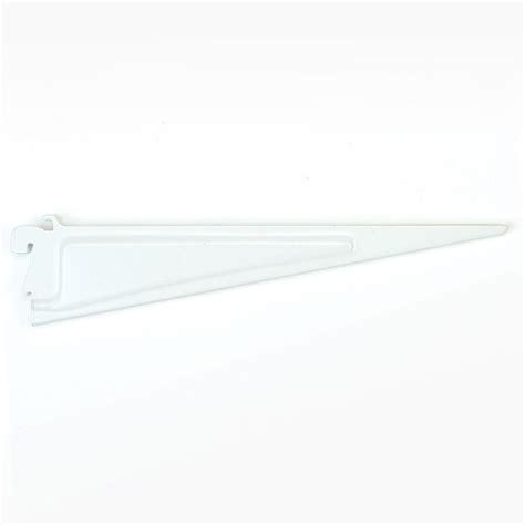 closetmaid shelftrack 12 in x 5 in white shelf bracket
