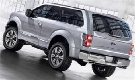 ford bronco car specs release date car specs