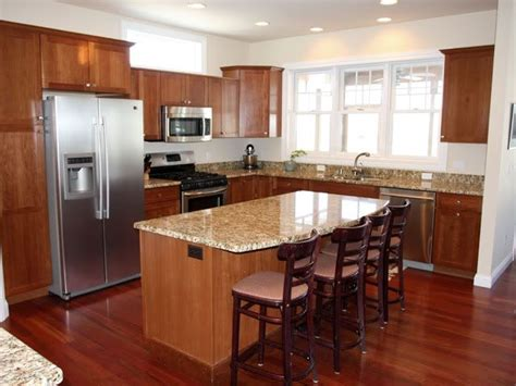 How To Get An Ideal Kitchen Island Overhang Intended For