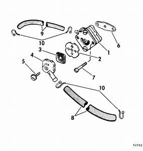 Fuel Pump Parts For 1975 15hp 15e75c Outboard Motor