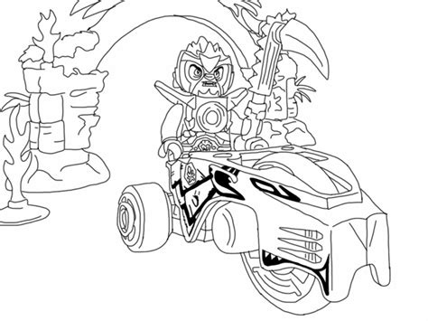 Printable Chima Coloring Pages