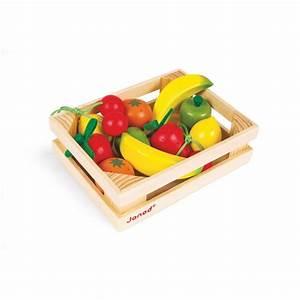 Cagette En Bois : cagette 12 fruits en bois janod 16 50 ~ Teatrodelosmanantiales.com Idées de Décoration
