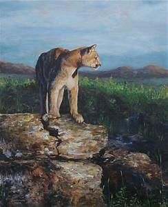 Mountain Lion Art