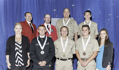 saint paul college cabinetmaking student receives