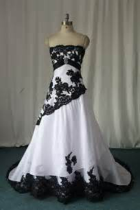 wedding dresses black chic wedding dresses with black lace detail for unique bridal look sang maestro